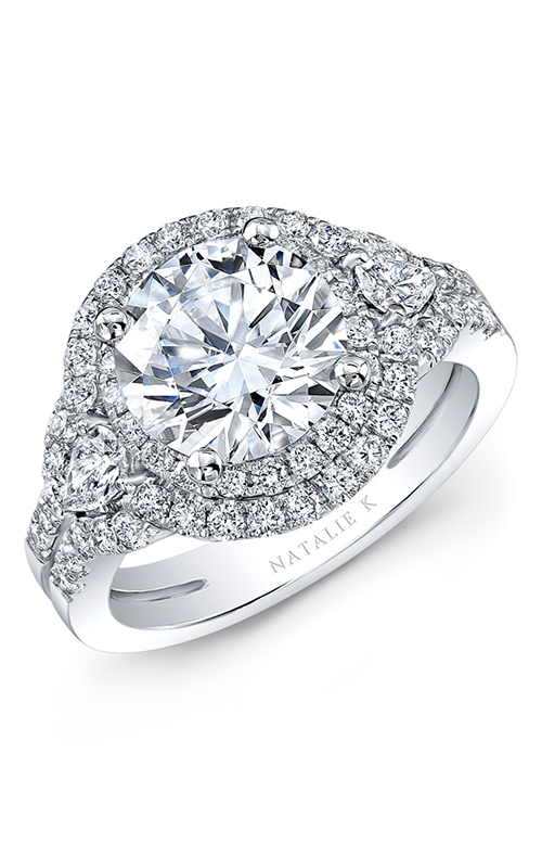 Natalie K Eternelle Collection Engagement ring NK31357-18W product image