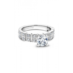 Noam Carver Modern Engagement ring B008-02WM product image