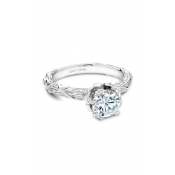 Noam Carver Floral Engagement Ring B081-01WM product image