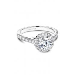 Noam Carver Halo Engagement ring B168-01WM product image