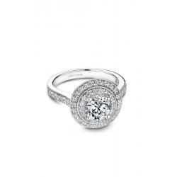 Noam Carver Halo Engagement ring B183-01WM product image