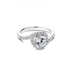 Noam Carver Halo Engagement ring B186-01WM product image