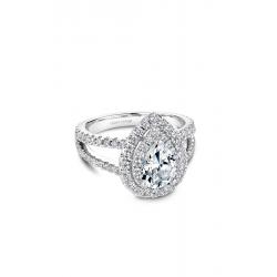 Noam Carver Halo Engagement ring B211-01WM product image