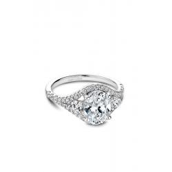 Noam Carver Modern Engagement ring B212-01WM product image