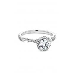 Noam Carver Halo Engagement ring B142-06WM product image