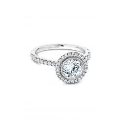 Noam Carver Halo Engagement ring B142-15WM product image