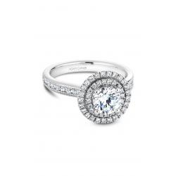 Noam Carver Halo Engagement ring B145-07WM product image