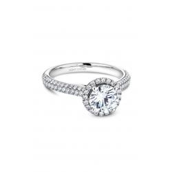 Noam Carver Halo Engagement ring B146-05WM product image