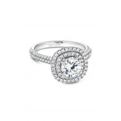 Noam Carver Halo Engagement ring B146-08WM product image