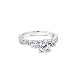 Noam Carver 3 Stone Engagement ring B206-01WM product image