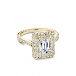 Noam Carver Halo Engagement ring R051-04YM product image