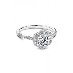 Noam Carver Halo Engagement Ring B214-01WM product image