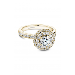 Noam Carver Floral Engagement Ring B145-16YM product image