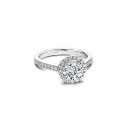 Noam Carver Halo Engagement Ring B005-01WM product image