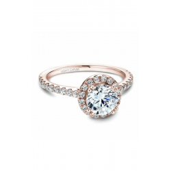 Noam Carver Halo Engagement Ring B007-01RM product image