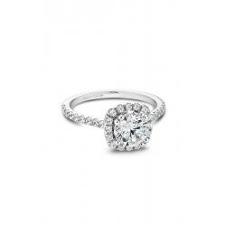 Noam Carver Halo Engagement Ring B007-02WM product image