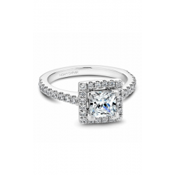 Noam Carver Halo Engagement Ring B029-02WM product image