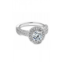 Noam Carver Halo Engagement Ring B030-01WM product image