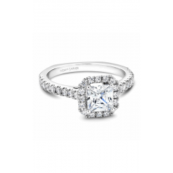 Noam Carver Halo Engagement Ring B034-02WM product image