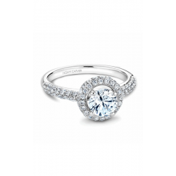 Noam Carver Halo Engagement Ring B071-01WM product image