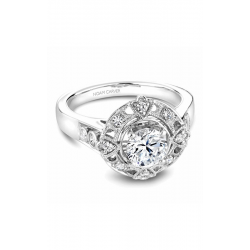 Noam Carver Halo Engagement Ring B073-01WM product image