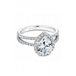 Noam Carver Halo Engagement ring B092-03WM product image