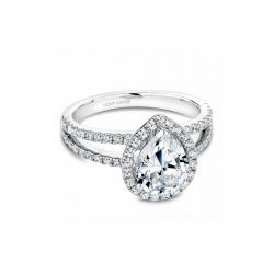Noam Carver Halo Engagement ring B092-03WM product image