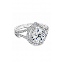 Noam Carver Halo Engagement ring B100-05WM product image