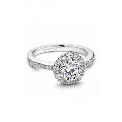 Noam Carver Halo Engagement Ring B100-07WM product image