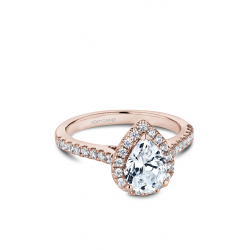 Noam Carver Halo Engagement ring B169-01RM product image