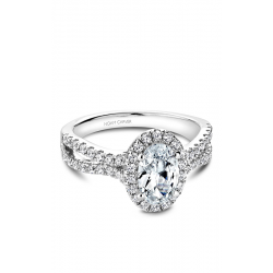 Noam Carver Halo Engagement ring B215-01WM product image