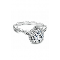 Noam Carver Floral Engagement ring B085-03WM product image