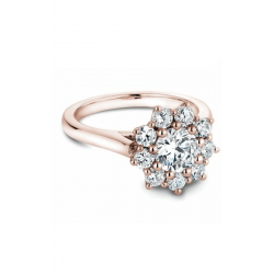 Noam Carver Floral Engagement Ring B090-01RM product image