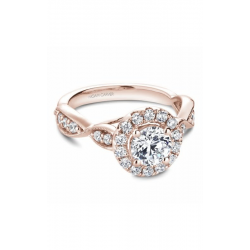 Noam Carver Floral Engagement Ring B160-01RM product image