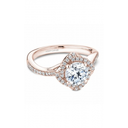 Noam Carver Floral Engagement Ring B176-01RM product image