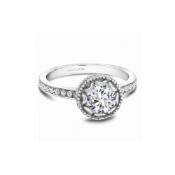 Noam Carver Floral Engagement Ring R002-01WM product image