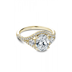 Noam Carver Modern Engagement ring B212-01YM product image