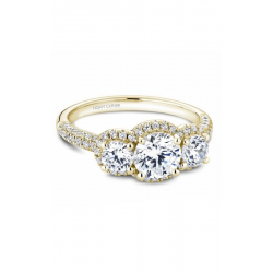 Noam Carver 3 Stone Engagement ring B184-01YM product image