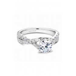 Noam Carver Twist Band Engagement Ring B154-01WM product image