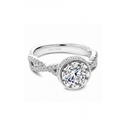 Noam Carver Twist Band Engagement Ring R015-01WM product image