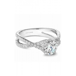 Noam Carver Twist Band Engagement Ring B241-02WM product image