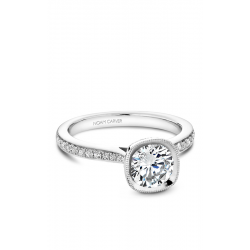 Noam Carver Bezel Engagement Ring B141-12WM product image