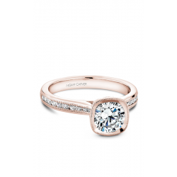 Noam Carver Bezel Engagement Ring B145-13RM product image