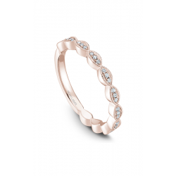 Noam Carver Stackables Wedding Band STA6-1RM-D product image
