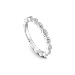 Noam Carver Stackables Wedding Band STA6-1WM-D product image