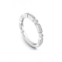 Noam Carver Stackables Wedding Band STB15-1WM-D product image