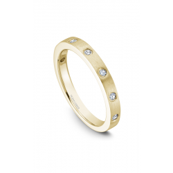 Noam Carver Stackables Wedding Band STB2-1YM-D product image