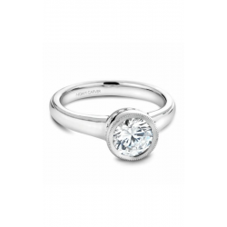 Noam Carver Bezel Engagement Ring B025-01WS product image