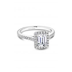 Noam Carver Halo Engagement ring R050-04WS product image