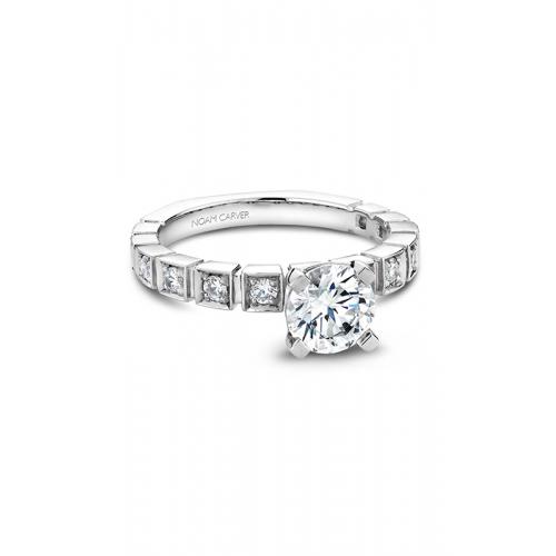 Noam Carver Modern Engagement ring B008-01WM product image